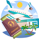 Appfillip - Travel App Marketing Icon
