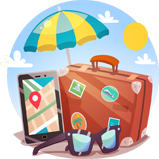 Appfillip - Travel App Marketing Image