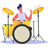 AppFillip - Music App Marketing Image